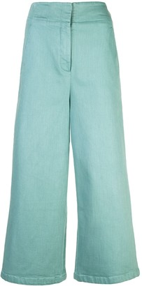 Tibi Garment Dyed Twill jeans