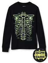 Classic Little Boys Glow in the Dark Graphic Tee-Eat All We Can