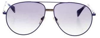 Celine Oversize Aviator Sunglasses