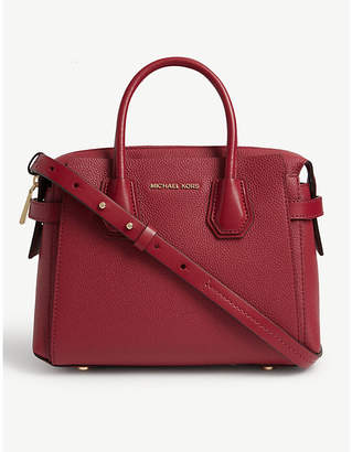 MICHAEL Michael Kors Mercer belted leather satchel