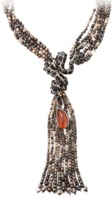 Arunashi Spinel Snake And Tourmaline Necklace