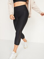 Thumbnail for your product : Old Navy High-Waisted Powersoft Run Crop Leggings for Women