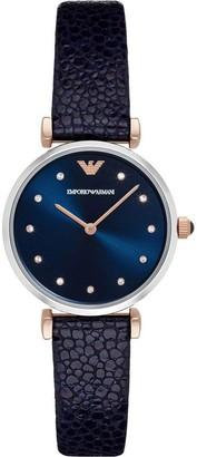 Emporio Armani AR1989 Ladies Watch in Blue