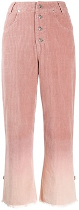 House Of Sunny Gradient-Effect Trousers
