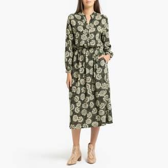 Hartford Radiante Printed Long-Sleeved Dress