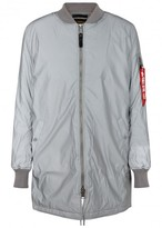 Alpha Industries Ma-1 Longline Reflective Shell Bomber Jacket