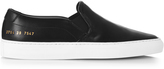 Common Projects Retro slip-on leather trainers