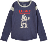 Lucky Brand Blue Boxing Club Tee - Toddler & Boys
