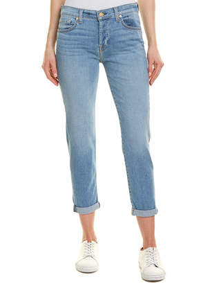 7 For All Mankind Seven 7 Josefina Blue Boyfriend Jean