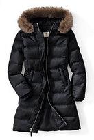 Classic Girls Fashion Down Coat-Deep Slate