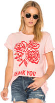 Wildfox Couture Thank You Tee in Pink. - size M (also in S,XS)