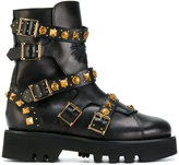Fausto Puglisi studded chunky boots