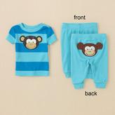 Children's Place Monkey pj set