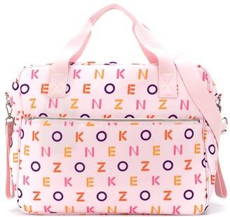 Kenzo Kids All-Over Logo Changing Bag