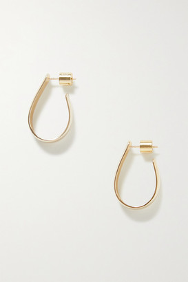 Jennifer Fisher Petite Bolden Gold-plated Hoop Earrings