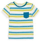 Splendid Toddler's Striped Pocket Tee