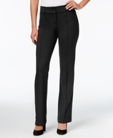 Style&Co. Style & Co Style & Co Petite Straight-Leg Trousers, Created for Macy's