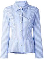 Maison Margiela striped shirt - women - Cotton - 40