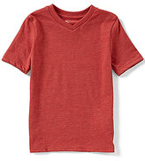 Class Club Little Boys 2T-7 V-Neck Solid Tee