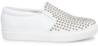 Steve Madden Torin White With Studs