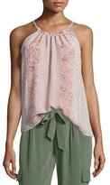 Joie Heze Multi-Print Sleeveless Top