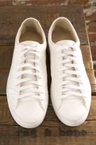 Rag & Bone Trainer in White Leather