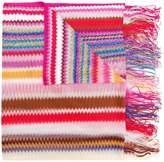 Missoni mini zig zag stripe scarf
