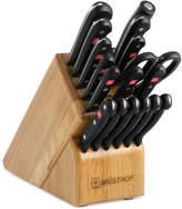 Wusthof Gourmet 18 Piece Knife Block Set