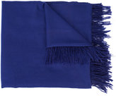 The Elder Statesman cashmere fringed scarf