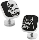 Asstd National Brand Star Wars Darth Vader and Stormtrooper Cufflinks