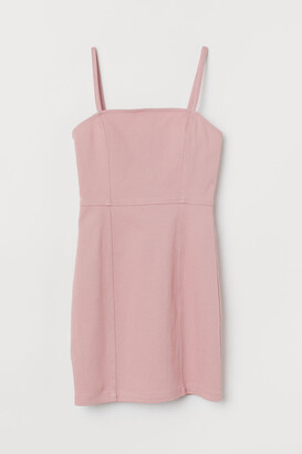 H&M Fitted Dress - Pink