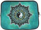 """Laptop Sleeve Modern Design Cool Funny Yin Yang Symbol Theme Soft Water-proof Neoprene Carrying Case Sleeve Bag For Macbook, Macbook Air/Pro 13 Inch All 13"""" Laptop Notebook(two sides)"""
