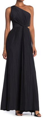 Ramy Brook Linley One-Shoulder Cutout Maxi Dress