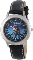 Disney Kids' W000155 Pirates of the Caribbean Stainless Steel Time Teacher Watch