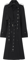 Proenza Schouler Db Cotton-Gabardine Trench Coat