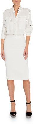 Tom Ford Patch Pocket Front Dress