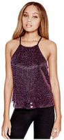 G by Guess GByGUESS Women's Anabella Flared Crop Top