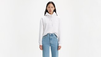 Levi's Two Horse Raw Cut Hem Hoodie
