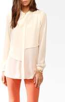 Forever 21 Asymmetrical Layers Tunic