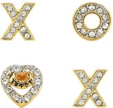 Juicy Couture Xo Stud Earring Set