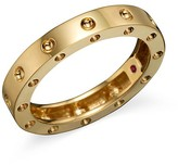 Roberto Coin 18K Yellow Gold Pois Moi Round Single Row Ring