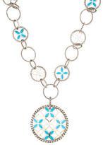John Hardy Kawung Enamel Pendant Necklace