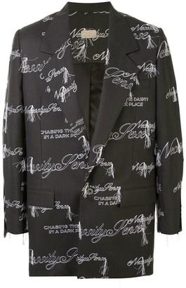 Necessity Sense Sam embroidered oversized blazer