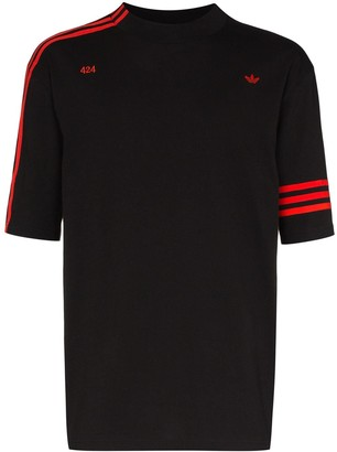 adidas by 424 Vocal striped T-shirt
