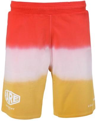 Givenchy Dip-dye Shorts Dark Orange