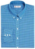 Turnbull & Asser Informalist Gingham Regular Fit Button Down Shirt