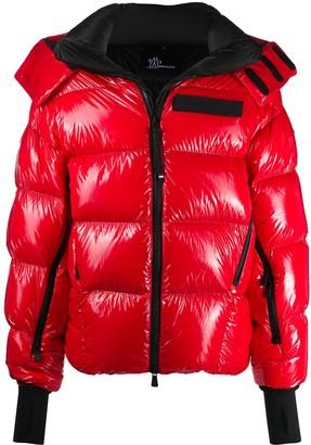 MONCLER GRENOBLE High-Shine Padded Jacket
