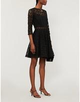Claudie Pierlot Rosiere lace midi dress