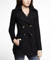 Express Fit And Flare Trench Coat