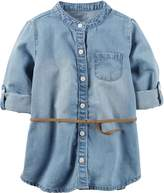 Carter's Toddler Girls Chambray Tunic